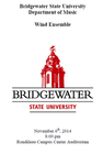 Bridgewater State University Wind Ensemble (November 6, 2014)
