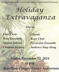 Holiday Extravaganza (December 12, 2014) by Bridgewater State University Music Department