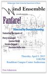 Bridgewater State University Wind Ensemble: Fanfare (April 9, 2015) by Bridgewater State University Wind Ensemble