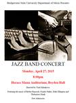 Jazz Band Concert (April 27, 2015) by Bridgewater State University Jazz Band