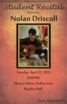 Student Recital: Nolan Driscoll (April 21, 2015) by Nolan Driscoll