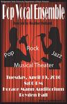Pop Vocal Ensemble (April 19, 2106)