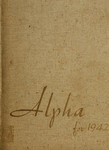 Alpha [Yearbook] 1942 by Bridgewater State Teachers College