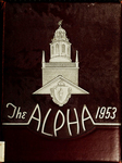 Alpha [Yearbook] 1953 by Bridgewater State Teachers College