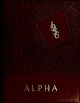 Alpha [Yearbook] 1956 by Bridgewater State Teachers College