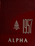 Alpha [Yearbook] 1957 by Bridgewater State Teachers College