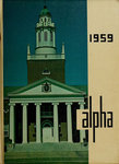 Alpha [Yearbook] 1959 by Bridgewater State Teachers College